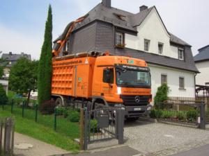 Saugbagger-Baustelle - TUR Saugbaggerdienst