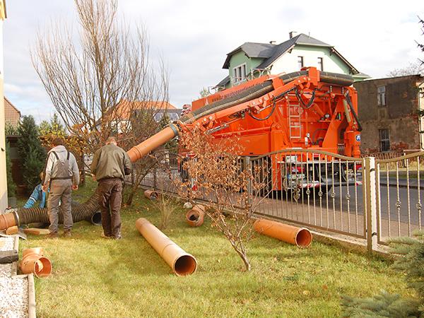 Leistungen der TUR Saugbagger GmbH