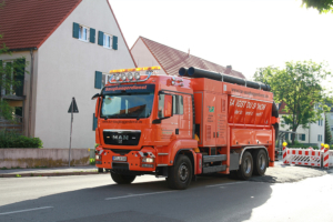 Saugbagger-Baustelle - TUR Saugbaggerdienst GmbH